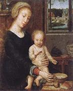 Gerard David Maria with child oil painting picture wholesale